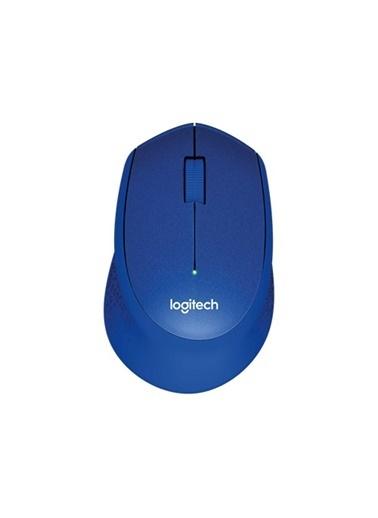Logitech M330 Sılent Kablosuz Mouse Mavı (910-004910) Mavi